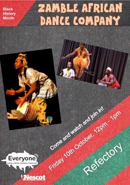 Zamble African Dance Company