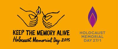 Holocaust Memorial Day 27th January 2015