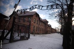 Gates to Auschwitz-Birkenau